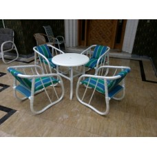 Style Pated Chairs Set With 30inch Table Sd-03-001