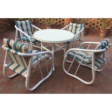 Style Garden Outdoor Chairs set with 36inch Table-Sd-11-001