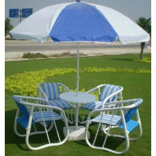 Style Pated  Garden Outdoor Chairs Set CL-23- 001
