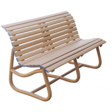 Upvc Outdoor Park Bench Cane Color 001