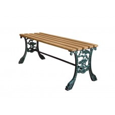 Royal Outdoor Park Bench Stool-001