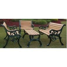 Prince  Outdoor Park Bench  Set 001