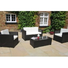 Rattan Sofa Set 2+1+1+Table Furniture 001