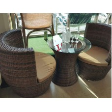 Rattan Furniture Set 001Ch-Brown