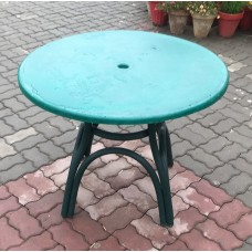 Outdoor Fiber Glass Green  Heaven Tables 36inch Round 001
