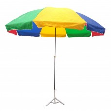 Outdoor Umbrella Parashoot Multi Color 8feet dia 001
