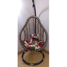 Cup Swing Hanging Chairs  Nashpati Black Color 001
